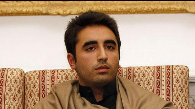Pakistan People's Party (PPP) chief Bilawal Bhutto. (Photo: AP)
