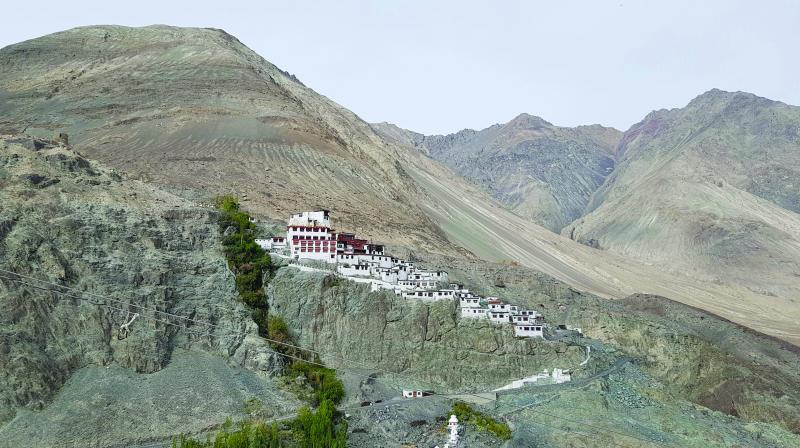 Diksit monastery is a must visit