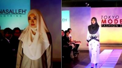 Around 10 brands, mainly from Singapore, were showcasing their creations