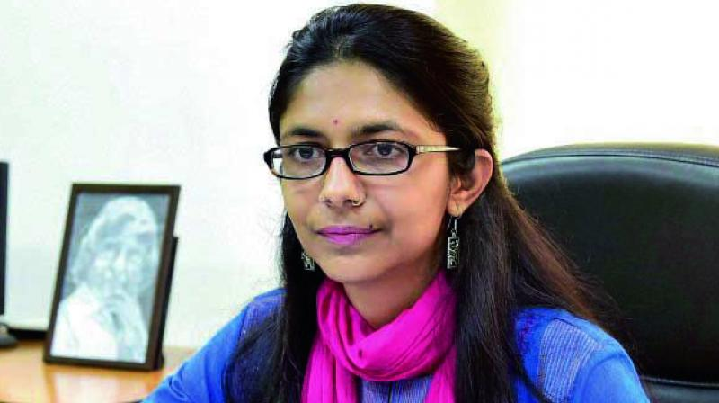 Delhi Commission for Women (DCW) chairperson Swati Maliwal. (Photo: File)