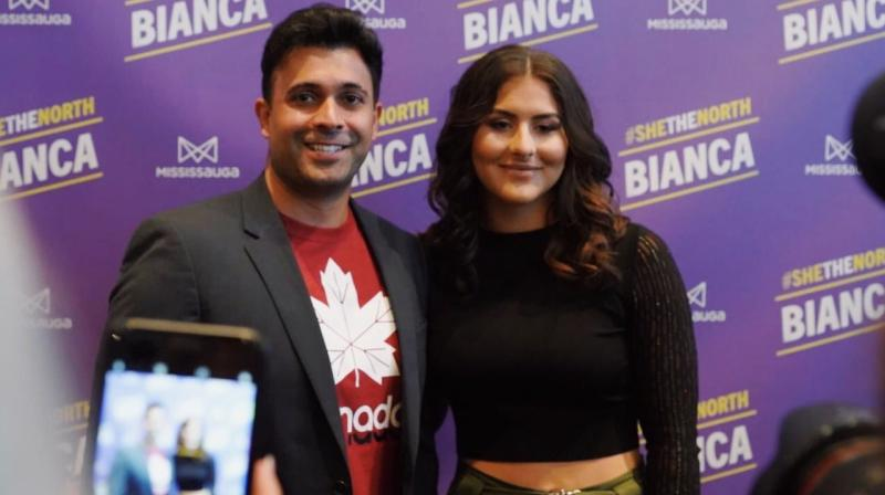 Bianca Andreescu was awarded the Lou Marsh Trophy as Canada's athlete of the year on Monday, capping a remarkable year in which the teenager became the country's first tennis Grand Slam singles champion with her U.S Open triumph. (Photo:Twitter)
