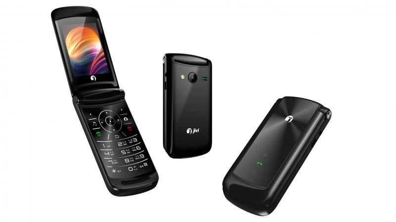 Image result for Jivi Mobiles launches stylish Flip 6 feature phone