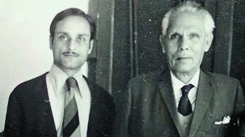 Shankar Ghosh with his father