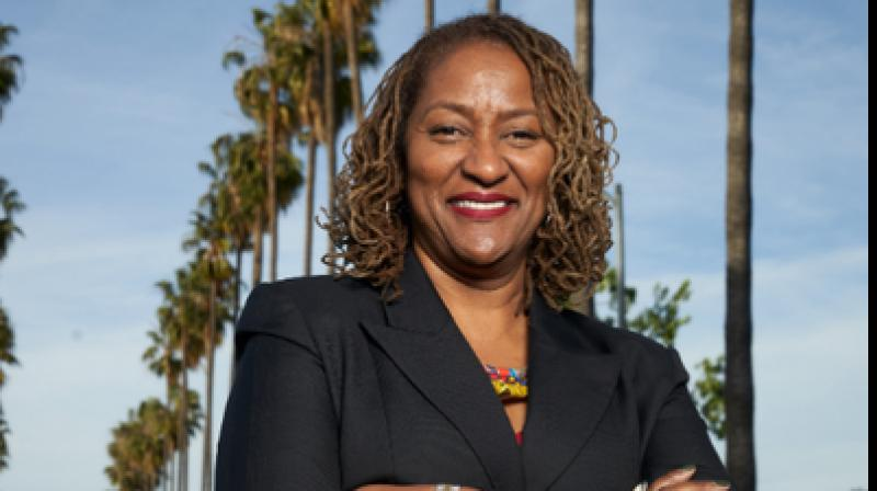 Democratic Senator Holly Mitchell said as hairstyles are associated with race, they are protected against discrimination in workplace and schools. (Photo: Twitter/@HollyJMitchell)