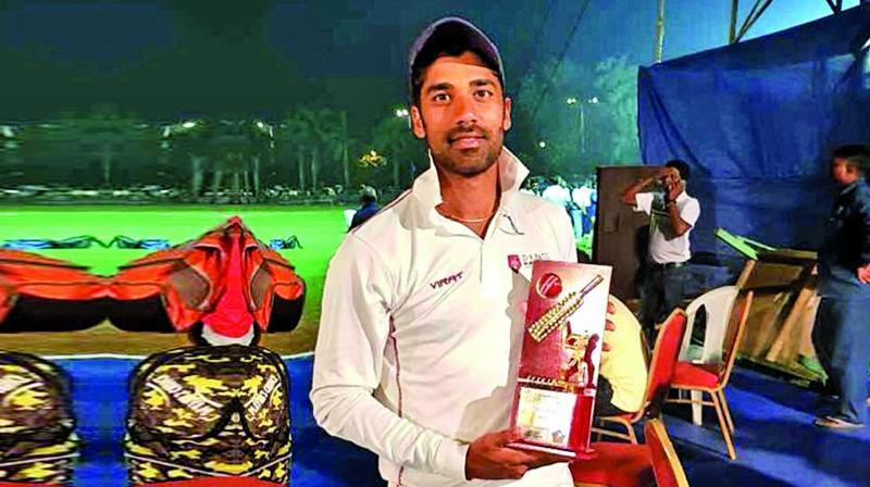 I had a good season at club level cricket. I scored 1,480 runs during the season, with two double hundreds and four tons  Shashank Singh