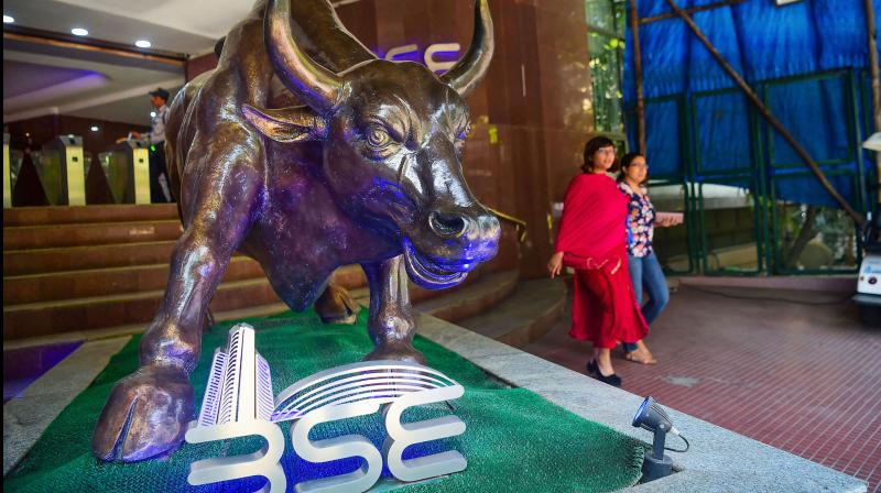 Equity benchmark Sensex dropped over 600 points in opening trade on Monday. (PTI Photo)