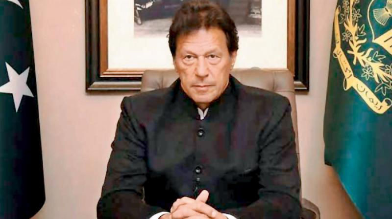 Pakistan Prime Minister Imran Khan. (PTI Photo)