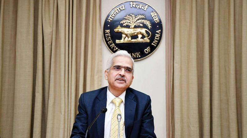 Reserve Bank of India (RBI) Governor Shaktikanta Das. (PTI PHOTO)