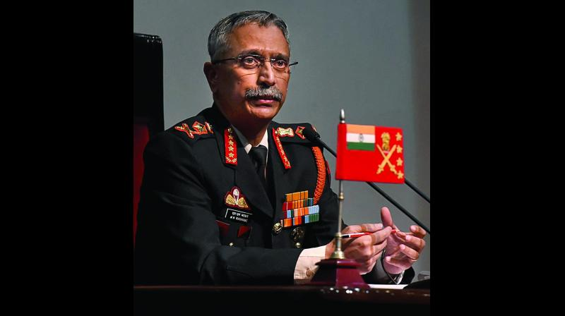 Army Chief, Gen. Manoj Mukund Naravane