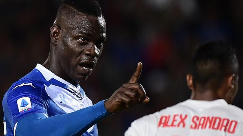 Italian striker Mario Balotelli can leave Brescia on a free transfer in January as his game is not suited to a relegation scrap, the Serie A club's president Massimo Cellino has said.  (Photo:AFP)