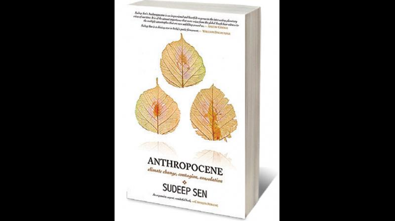 Cover page of 'Anthropocene' by Sudeep Sen. (Twitter)