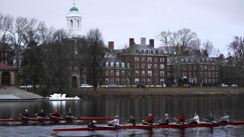 The 388-year-old institution is being sued by Students for Fair Admissions, an action group, for discriminating against Asian applicants. (Photo: AP)