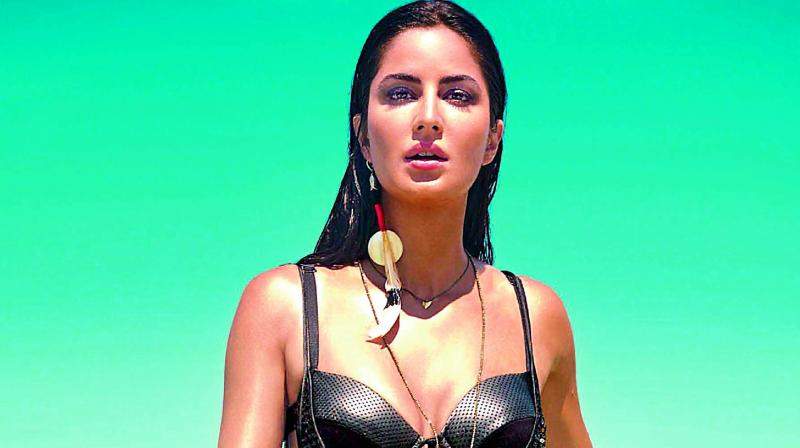 Katrina Kaif also posted an image from her holiday in Tulum, Mexico where she was chilling in a red high waisted bikini.