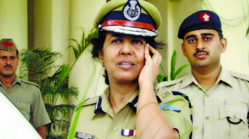 The first woman Director General of Police (DGP) Kanchan Chaudhary Bhattacharya