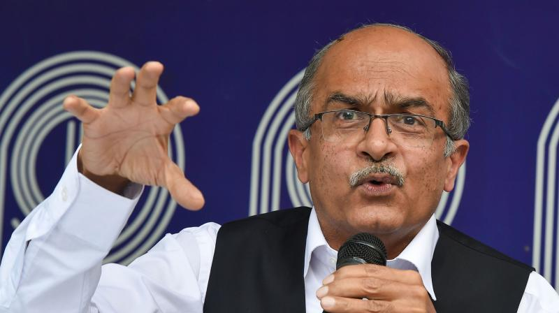 Prashant Bhushan (PTI photo)