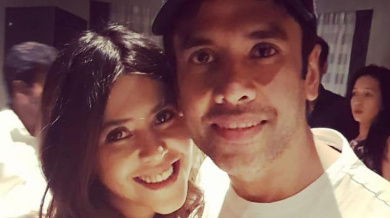 Ekta Kapoor and Tusshar Kapoor. (Photo: Instagram)