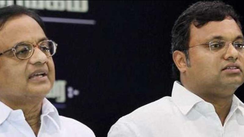 The senior Congress leader's role has come under the scanner of investigating agencies in the Aircel-Maxis deal of Rs 3,500-crore and the INX Media case involving Rs 305 crore. (Photo: PTI)