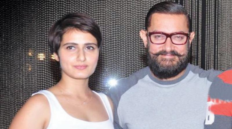 Aamir Khan and Fatima Sana Shaikh