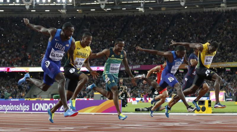 Bolt hasn't lost at a major championship since he burst onto the scene in 2008 and took over. (Photo: AP)