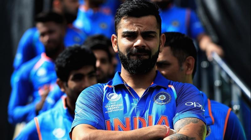 The Indian skipper is 12 points ahead of Australian batsman David Warner in the ODI rankings for batsmen. (Photo: ICC)