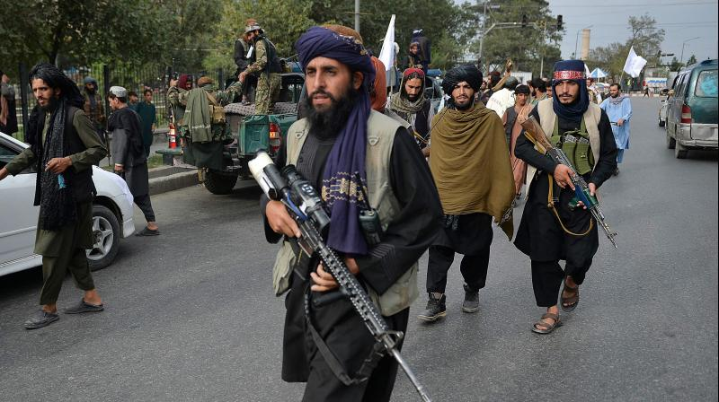 The Taliban, which had been advancing through the country, marched into the capital Kabul and took charge. (Representational image: AFP)