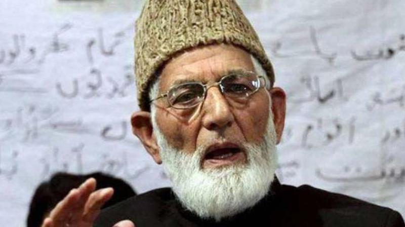 Geelani was born on September 29, 1929 in Zurimanz village outside north-western town of Sopore. (Photo: PTI)