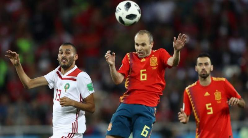 Iniesta quickly made amends by setting up Isco at the other end to bring Spain level at halftime. (Photo: Fifa official site)