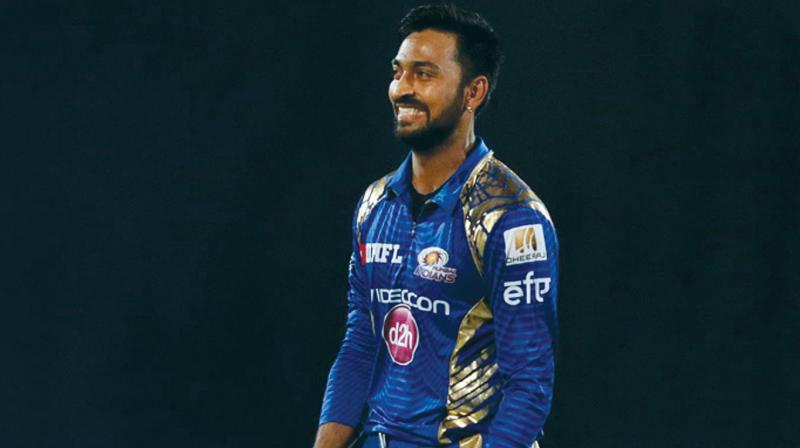 After seeing the question, the elder brother Krunal took to Twitter to chip in with an answer while tagging Amitabh Bachchan on his tweet. (Photo: BCCI)