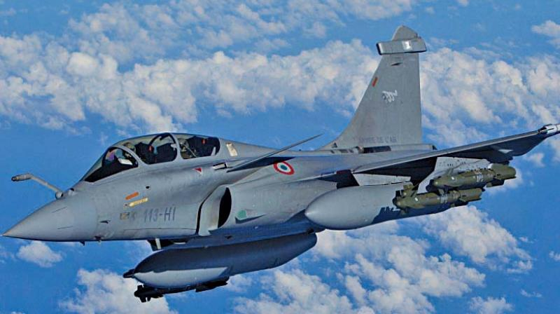 India and France had signed a nearly Rs 59,000-crore deal for the Rafale jets.