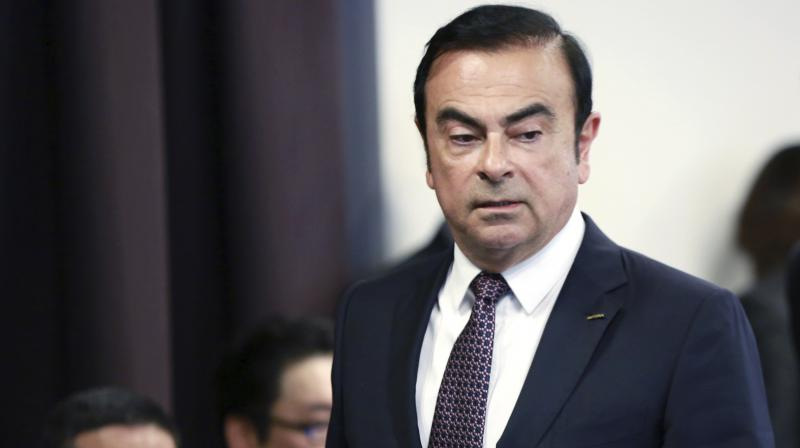 Carlos Ghosn is accused of under-reporting millions of dollars in income at Nissan and of of using company funds for personal expenses -- charges he denies. (Photo: File | AP)