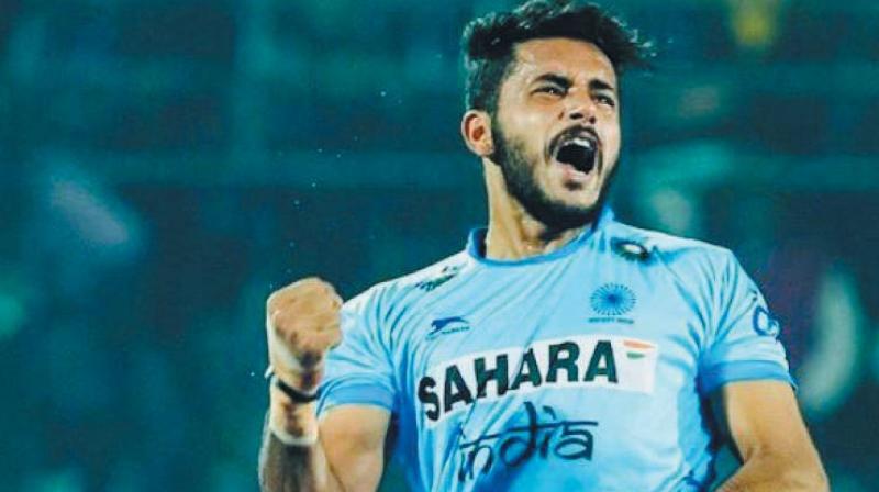 Harmanpreet Singh scored a brace in India's 3-2 win.