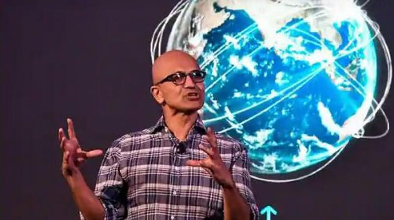 Microsoft CEO Satya Nadella. (AFP File)