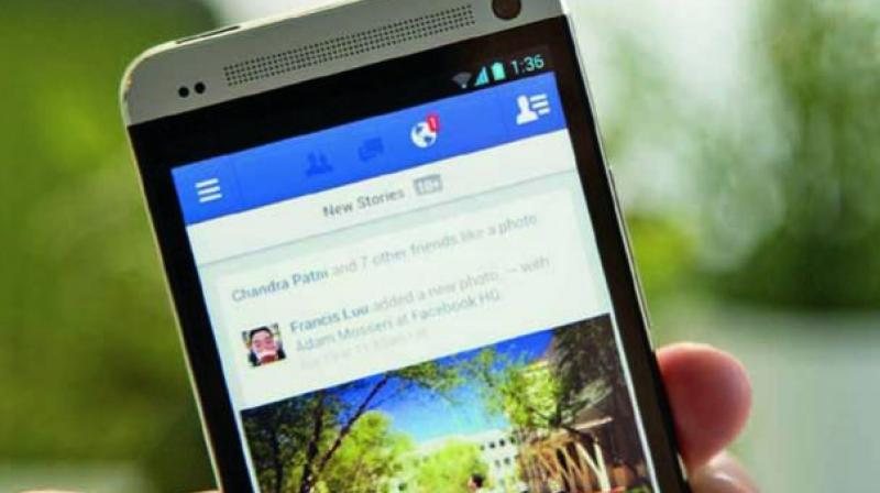 Facebook users were more at risk of depression when they felt envy triggered by observing others or accepted former partners as Facebook friends. (Representational Image)