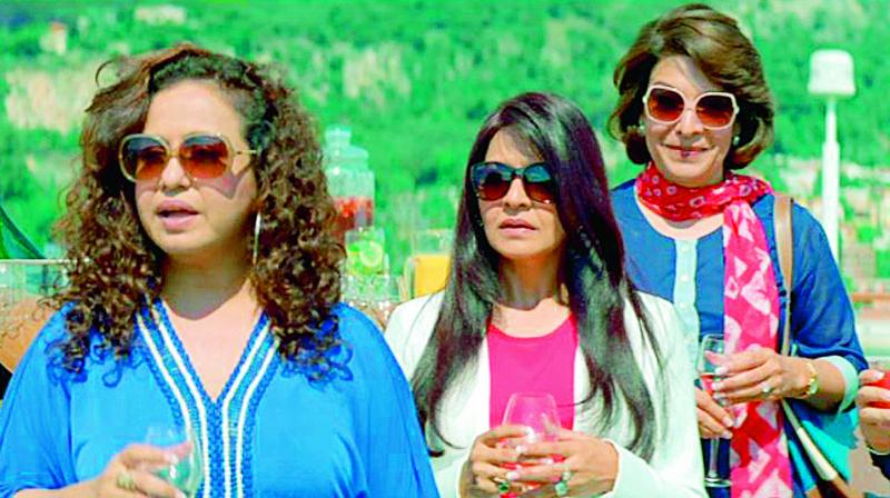 Socialite, a term once revered by Page 3 has no takers now; A still from the movie Dil Dhadakne Do
