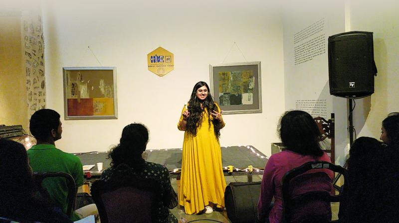 Priyanks Patel at a previous workshop