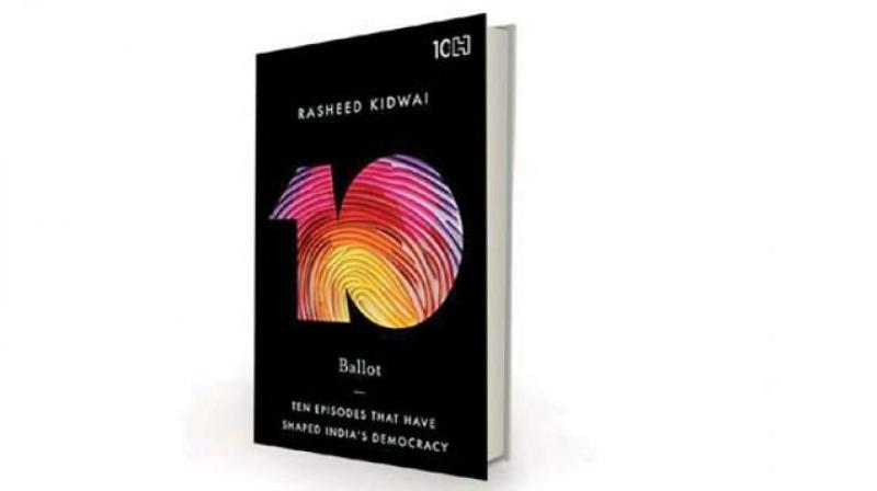 Ballot: Ten Episodes that Have Shaped India's Democracy, by Rasheed Kidwai Hachette India, Rs 399