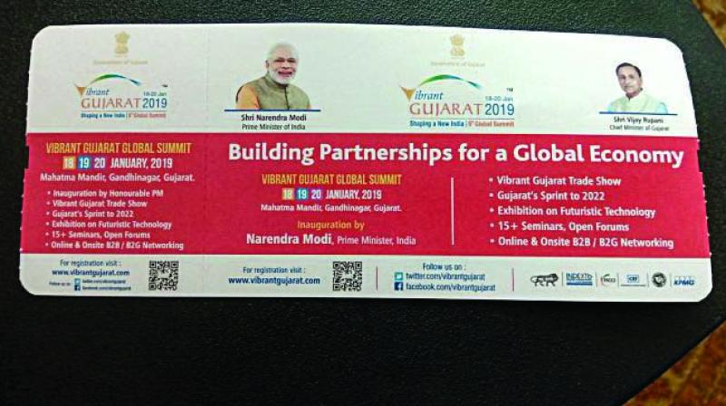 The Air India spokesperson said the boarding passes seemed to be printed during the Vibrant Gujarat Summit held in January and the photographs were part of the advertisement from 'third parties'.