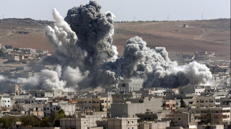 The Syrian Observatory for Human Rights, a Britain-based monitor of the conflict, said it was one of the deadliest air attacks on government loyalists in recent months. (Representational Image)