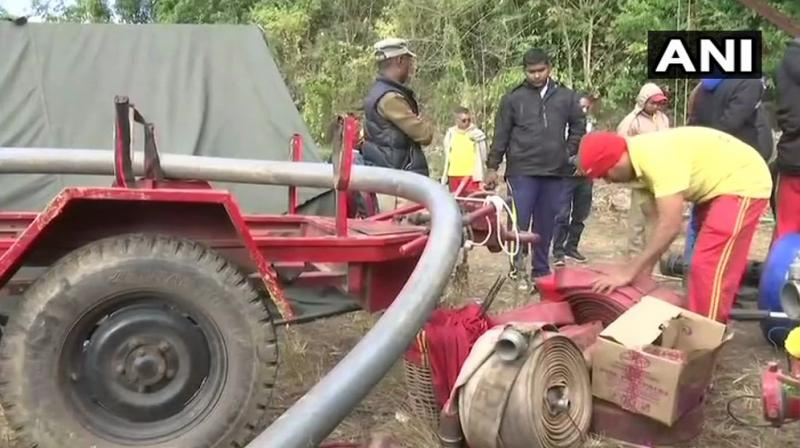 The operation to rescue them entered the 22nd day on Thursday. (Photo: ANI | Twitter)