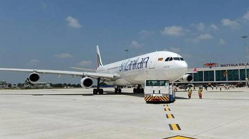 The Civil Aviation Authority on Thursday said that travellers from India will not be allowed to disembark in Sri Lanka. (AFP)