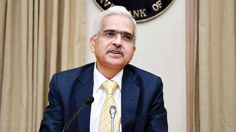 Reserve Bank of India (RBI) Governor Shaktikanta Das . (PTI Photo)