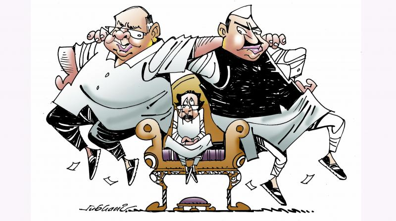 Uddhav faces a test in running the 'Great Maharashtra Political Circus'. There have already been murmurs of discontent over the Cabinet formation among his allies.