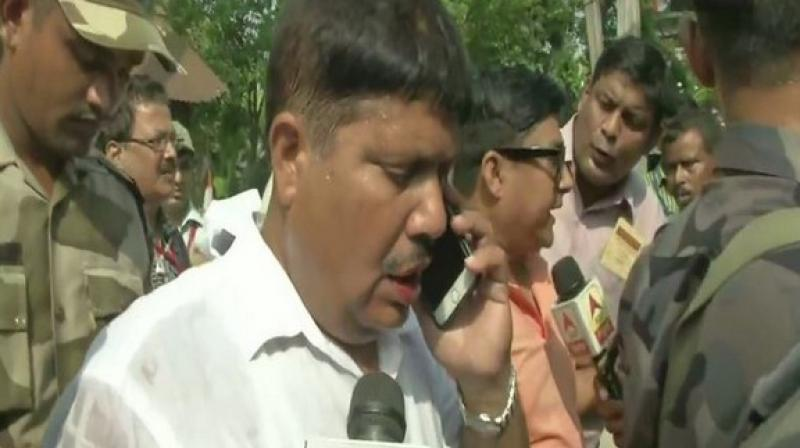 The BJP leader also accused the Chief Minister of giving shelter to Bangladeshis and Rohingya in the state as vote bank. (photo: ANI)
