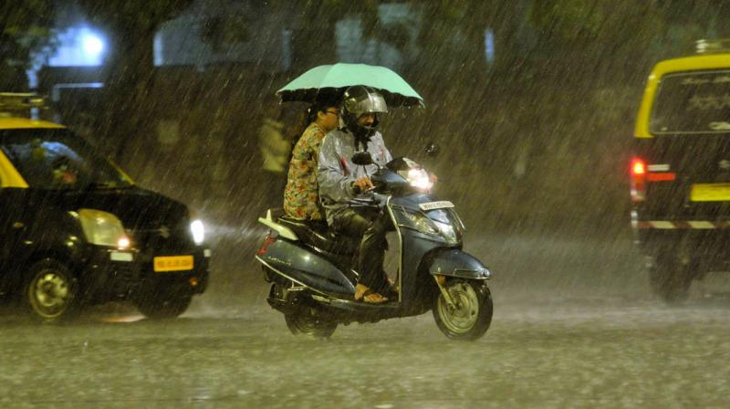 Weathermen have attributed the unusual rains in November to the presence of cyclone Maha over east central Arabian Sea. (Photo: RAJESH JADHAV)