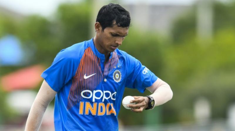 Bhuvneshwar Kumar has said 26-year-old Navdeep Saini has proved himself in various formats of the game. (Photo: AFP)