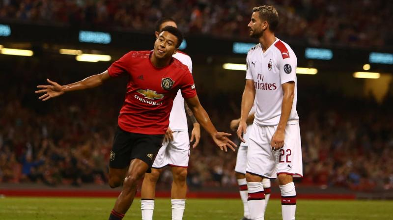 Substitute Jesse Lingard scored the equaliser, when set up by a through ball from Anthony Martial, with a low shot from an acute angle to send the game into a penalty shootout. (Photo: AFP)
