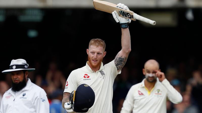 Ben Stokes' 135 not out on Sunday secured an highly unlikely one-wicket win over Australia -- England required 73 when the last batsman Jack Leach came to the wicket -- and followed a monumental 24-over bowling stint in the tourists' second innings during which he took three wickets. (Photo:AFP)