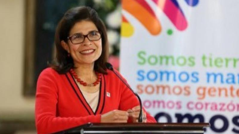 Hilda Hernandez, 51, was an agronomy engineer who served as communications minister under her brother and as minister of social development during the previous administration of then-President Porfirio Lobo. (AFP)