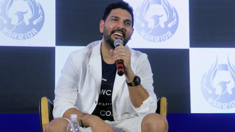 Yuvraj announced his retirement during a press conference at a South Bombay hotel on June 10. (Photo: Mrugesh Bandiwadekar)