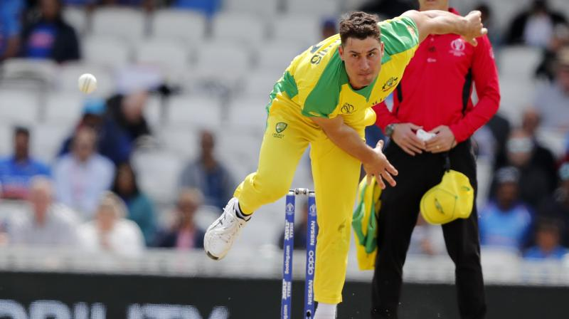 Stoinis suffered a side strain that is preventing him from bowling. (Photo: AP)